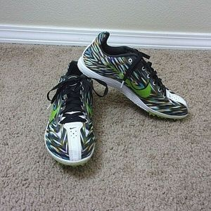 Nike Rival D Racing Shoes Track Field Spikes